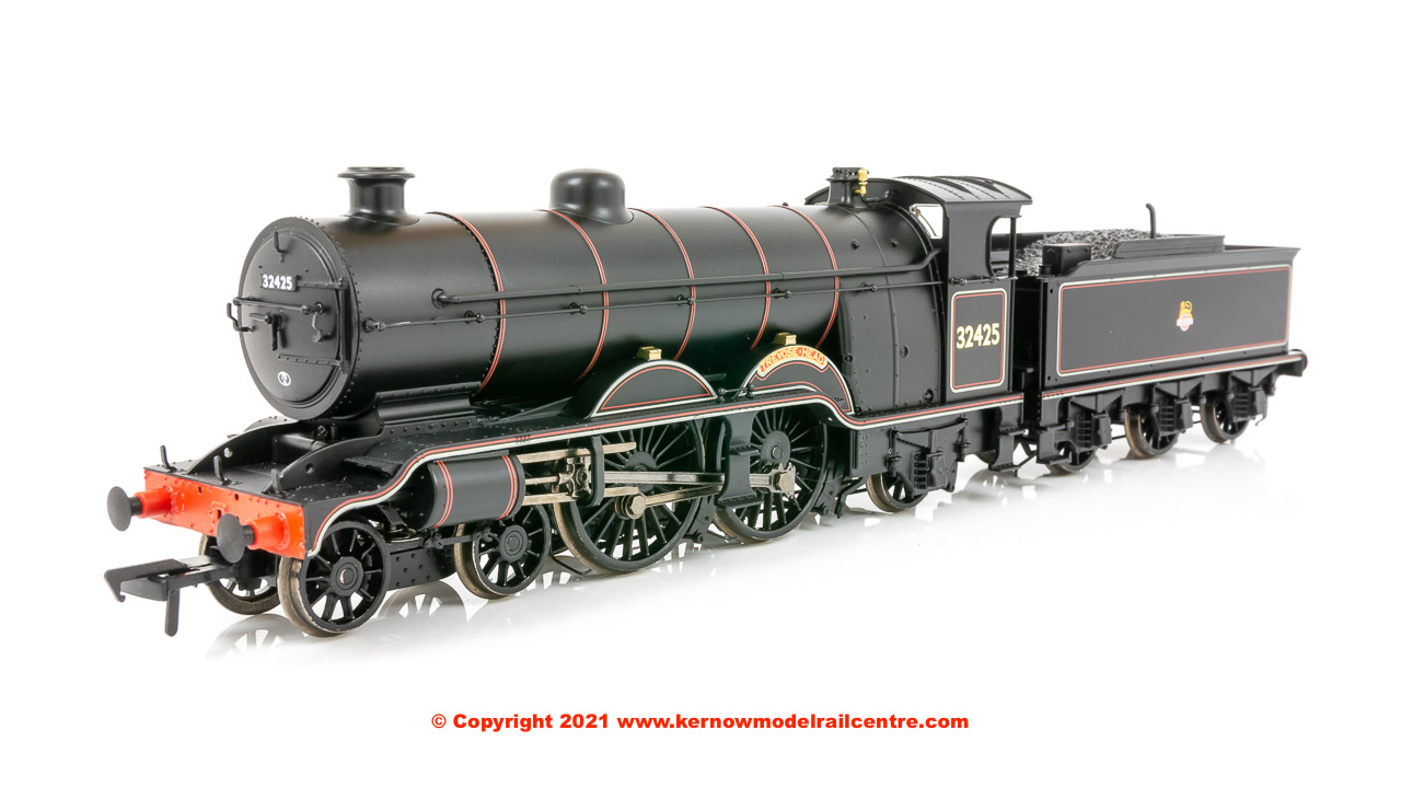 "31-921A Bachmann LB&SCR H2 Atlantic Steam Locomotive number 32425 ""Trevose Head"" in BR Lined Black livery with Early Emblem - Era 4."